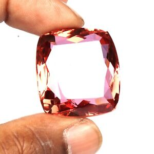 90.00 Ct. Color Change In Sunlight Alexandrite Cushion Cut Loose Gemstone SS-207