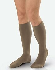 Jobst Ambition Men's 15-20mmHg Knee High, Size 3 Regular, Navy
