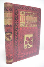 1880 HALF-HOURS WITH THE POETS*Choice Poems*Beautiful Victorian Era Book! Poetry