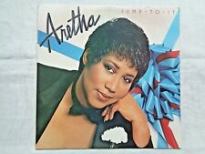 Aretha Franklin Jump To It 1982 Arista AL-9602 Sterling TV1/TV1 Press & Inner EX