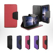 For ZTE Grand X Max 2 /Z988 Leather Wallet Folio Stand Protective Case Cover