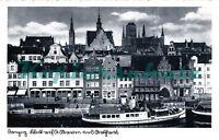 AK Danzig (Gdansk ) Hafen und Altstadt, 14/12