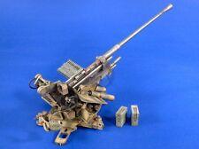 Verlinden 120mm (1/16) German 3.7cm FlaK 37 Anti-Aircraft Cannon WWII 2785