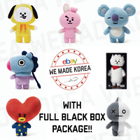 BT21 Character Plush Standing Doll Medium Size K-Pop Official Authentic MD