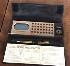 Rare Mattel Vintage 1970s HorseTrack Race Analyzer Electronic Game *Tested