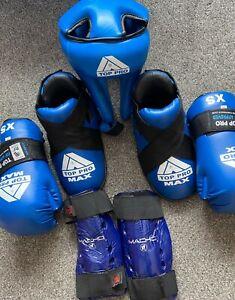 Youths Childs ITF Taekwondo Top Pro sparring kit lot C