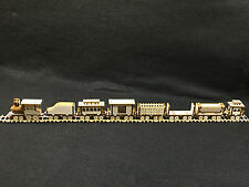 Laser Cut Wooden Traditional Steam Locomotive Train 3D Model/Puzzle Kit