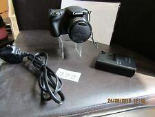 Canon PowerShot SX430 IS 20.0MP Digital Camera - Black
