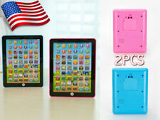 2pcs For Kid Children Tablet Pad Gift Learning English Educational Teach Toy