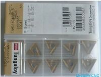 Japan Tungaloy 10pcs TNMG160404R T9025 Carbide inerts indexable insets[CAPT2011]