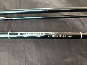 Vision INTRO fly fishing rod 9ft #5 line trout fishing