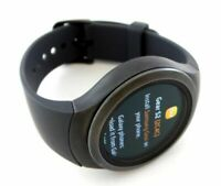 Samsung Gear S2 SM-R720 Stainless Steel Case SmartWatch Space Gray