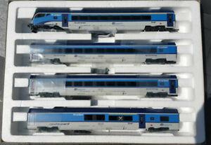 Roco 74066 H0 Wagenset CD Railjet, Wechselstrom, AC,