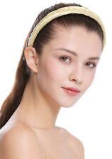 Haarband Haarreif geflochten Tracht traditionell platinblond braid CXT-001-026