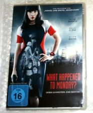 DVD : What happened to Monday ( Science-Fiction / Action / Mystery / Spannung )