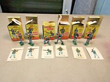 Marx Warriors of the World -Union Soldiers- Lot of 6-1960s Toy Lot