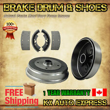 REAR KIT Left & Right Premium OE Replacement Brake Drums AND Shoes 35089 S832
