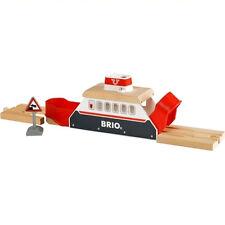 BRIO FERRY SHIP DESTINATION Wooden Train Engine 33569