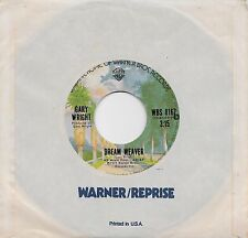 GARY WRIGHT  Dream Weaver / Let It Out  45 from 1975