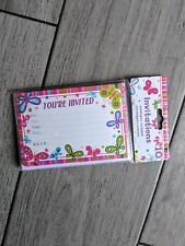 Girl  Butterfly Party Invitations