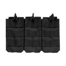 NcStar CVAR3MP2928B BLACK Holds 3 AR Style 5.56/223 or 7.62x39 Mag Pouch