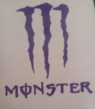 2 MONSTER VINYL STICKER, CAR DECAL WINDSCREEN Bumper sticker halloween2