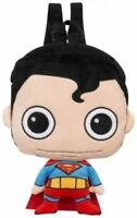 Official DC Comics Originals Superman Plush Bag Backpack - New With Tags