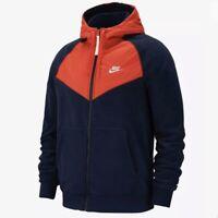 Nike Sportswear (Men's Size M) Standard Fit Full Zip Polar Fleece Hoodie Jacket