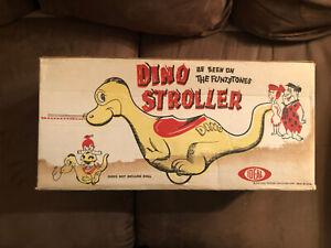 Vintage Flintstones Dino Stroller Ideal