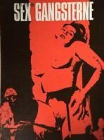 Sexy Gang Linda Veras Agnès Dantin Karine Ker 1967 Vtg Old Danish Movie Program