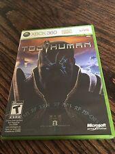 Too Human Xbox 360 Xbox 360 Cib Game Works XG1