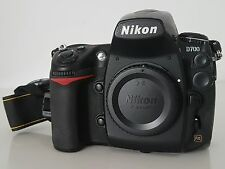 Nikon D700 12.1 MP Digital SLR Camera - Shutter count 13,000. Black (Body Only)
