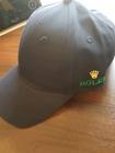 ROLEX BASEBALL CAP DARK GREEN DOUBLE SIDED GOLD CROWN GLEEN LOGO ADJUSTABLE  STR