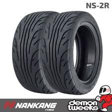 2 x Nankang 225 40 ZR18 92Y XL NS-2R Semi Slick Tyres