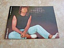 Robert Plant Led Zeppelin 3x4 1984 Sticker Photo