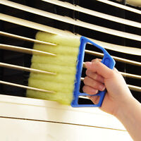 CO_ Microfibre Venetian Blind Brush Window Air Conditioner Duster Dirt Cleaner E