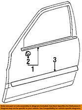 TOYOTA OEM 95-97 Tercel FRONT DOOR-Body side mldg Right 7573116730B0