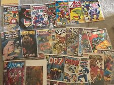 Variation of comics good condition some signed Superman is a 1986 reprint.....