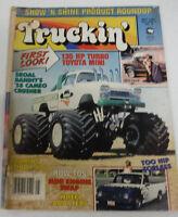 Truckin' Magazine Skoal Bandit's '58 Cameo Crusher May 1985 080614R