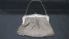 ANTIQUE ~ TURN OF THE CENTURY~ SILVER MESH PURSE