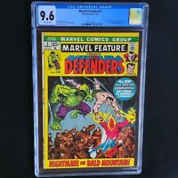 MARVEL FEATURE #2 (1972) 💥 CGC 9.6 💥 ONLY 5 HIGHER GRADE! 2nd App of Defenders