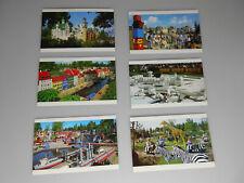 Lego® 6x alte Postkarten 1994 Legoland Billund Neu
