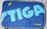 Full Size Stiga Table Tennis Paddle Case / Bat Cover, New, UK