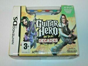 Guitar Hero on tour decades + Grip Nintendo DS (PAL España como nuevo sin usar)
