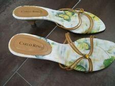 Org.CARLO RINO- italienische mod. Luxus-Sandaletten m.Riemchen Gr. 38 neuw.