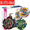 B-171 Beyblade Burst Superking Triple Booster Set Tempest Dragon With Launcher