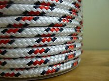 "3/8"" x 100 ft. Double Braid~Yacht Braid polyester rope spools.Valsail~Nautical"