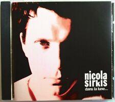 """NICOLA SIRKIS (INDOCHINE) - CD """"DANS LA LUNE"""" - PREMIÈRE ÉDITION"""