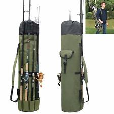 Fishing Bag Fishing Rod Reel Case Organizer Storage Bag Travel Carry Case Holder