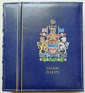 Book of 128x Canadian Quarters - Collectible UNC, Proof, Specimen, Coloured etc